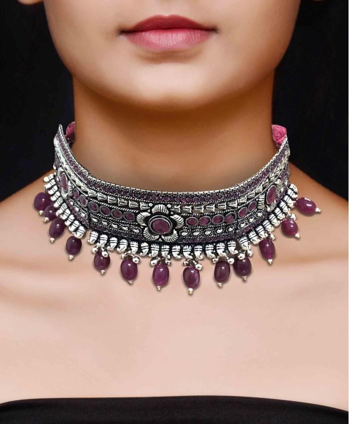 Beautiful Pranaya Ruby Choker