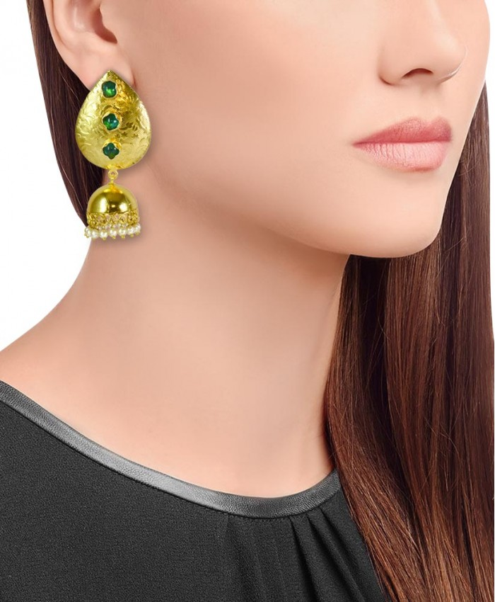 Tiara Gold Plated Jhumki