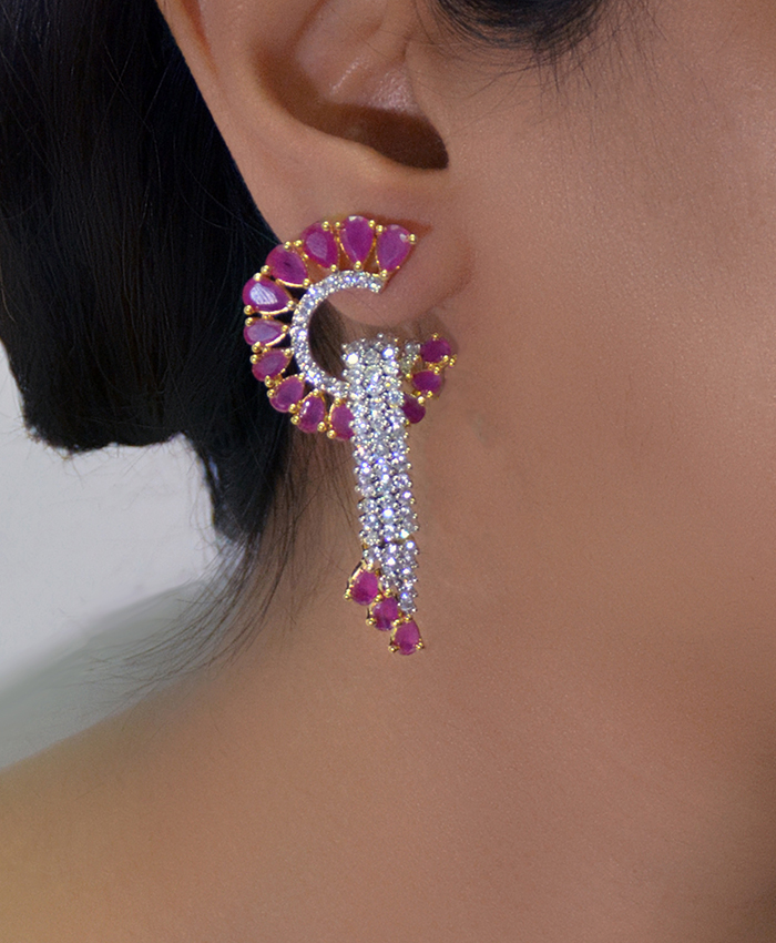 Aradhya Diamond  Earrings