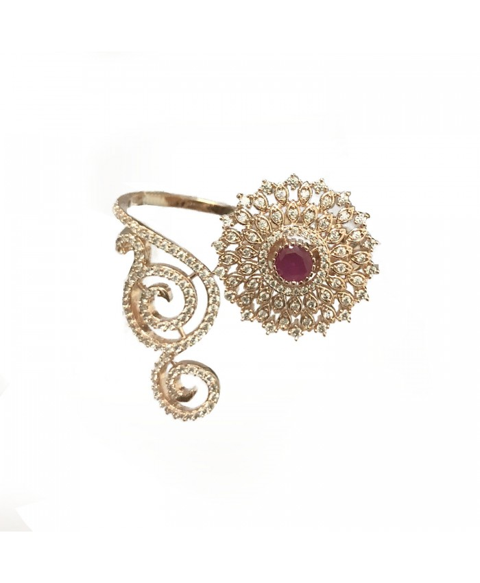 Saumya Rose Gold Plated Ring