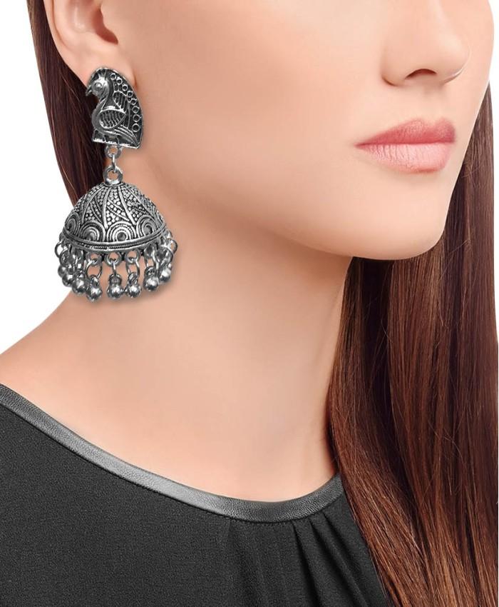 Vaishnavi Oxidised Earrings