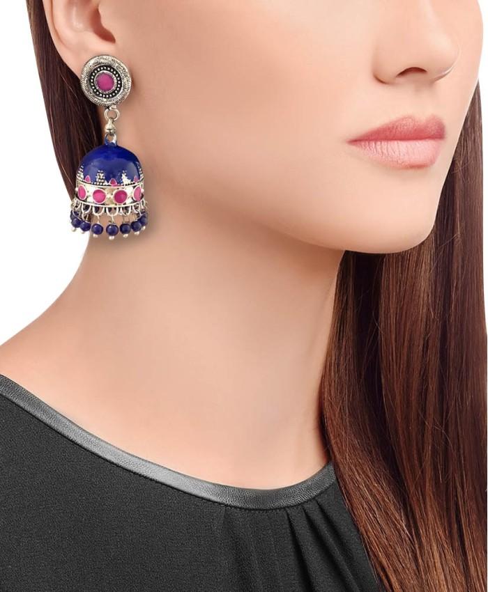 Saira Multi-Colour Earrings