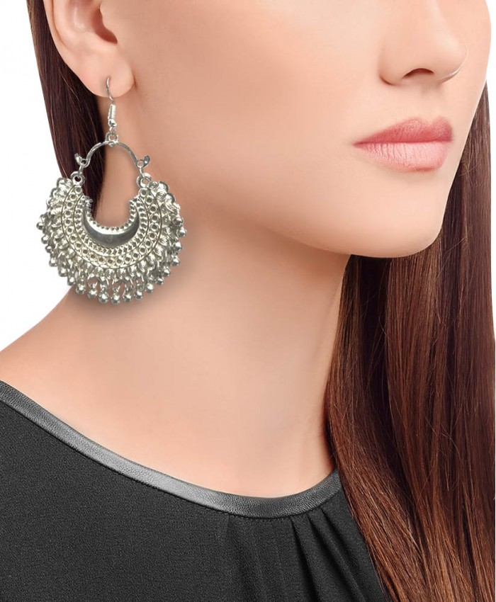 Hiral Oxidised Chand Balis