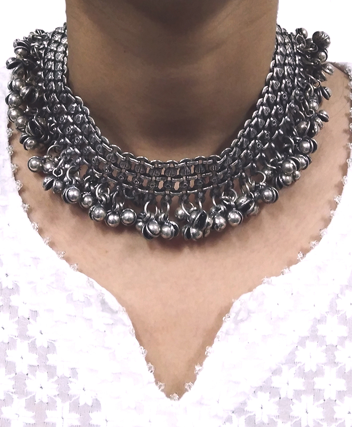 Beautiful Pranaya Ghunghroo Choker