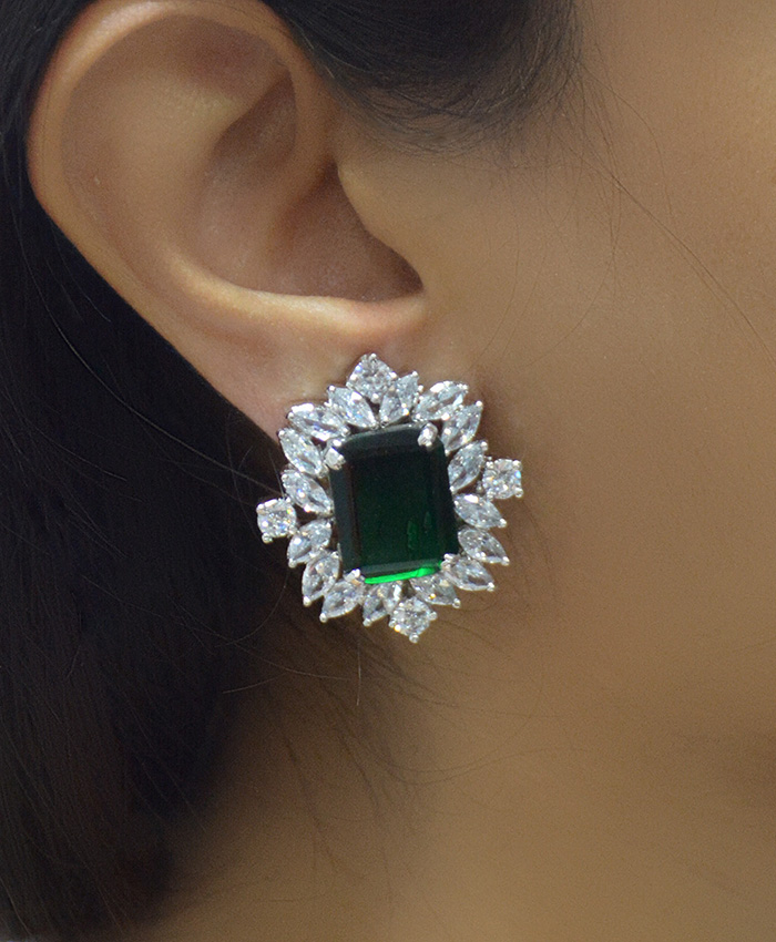 Ananya American Diamond Ear-Studs