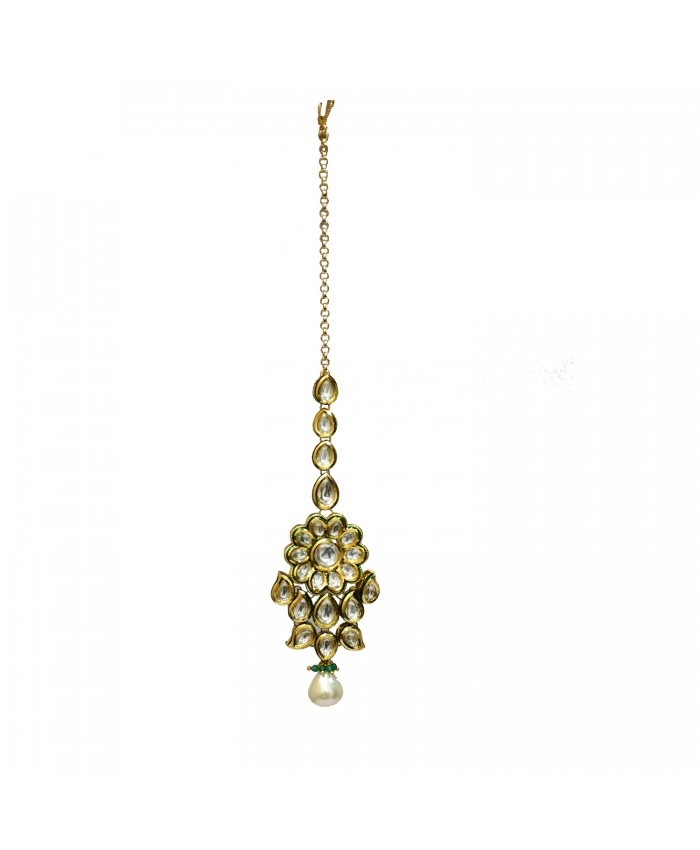 Elegant Advika Gold Plated Tika