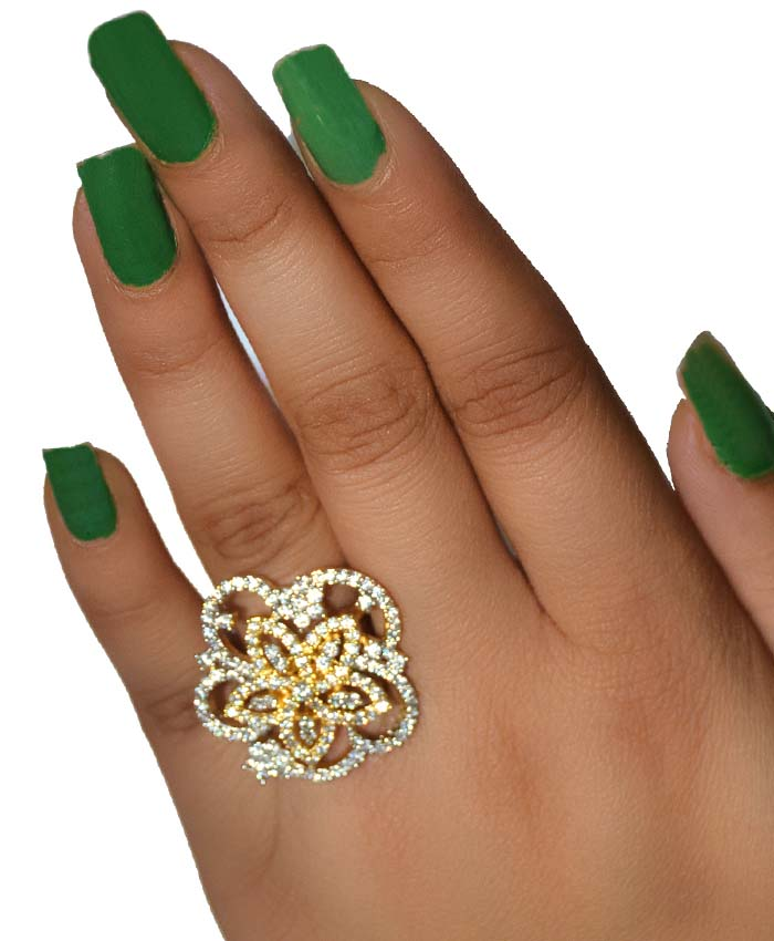 Irresistible Anupama Cocktail Ring