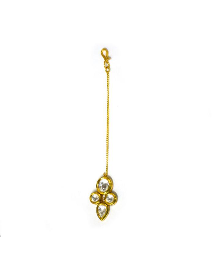 Gorgeous Takshvi Gold Plated Maang Tika